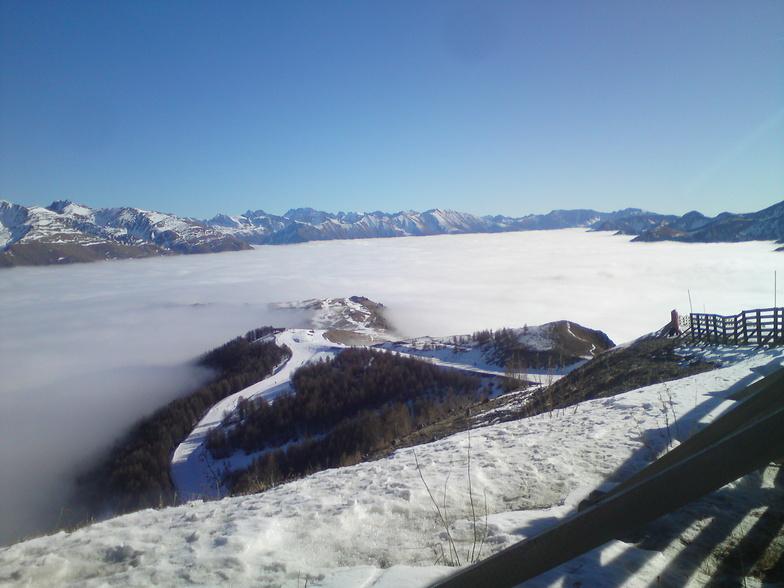une mer (de nuage) a la montagne 2, Auron
