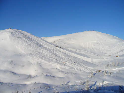 Ebensee am Traunsee Ski Resort by: Robert Blee