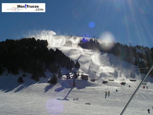 Snowmaking Soldeu El Tarter, Grandvalira El Tarter photo