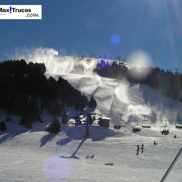 Snowmaking Soldeu El Tarter, Grandvalira El Tarter