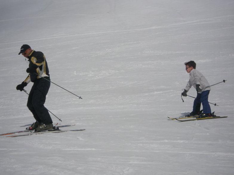 SNOW PLOW TURN!, Mount Parnassos