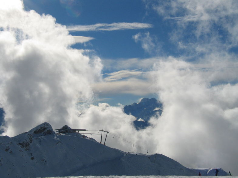 Verbier in the Clouds