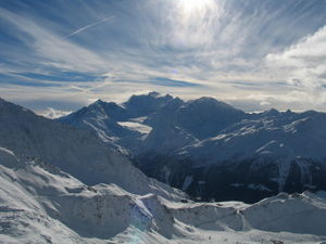 Grand Combin - Valais, Switzerland, Verbier photo