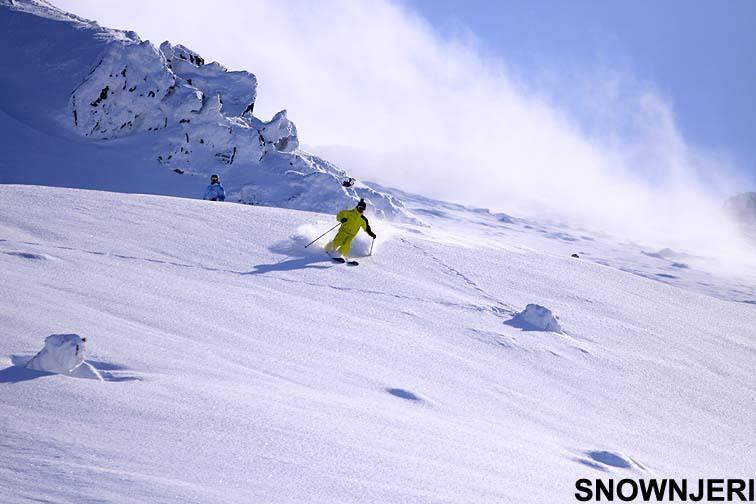 Yellow Skier, Brezovica