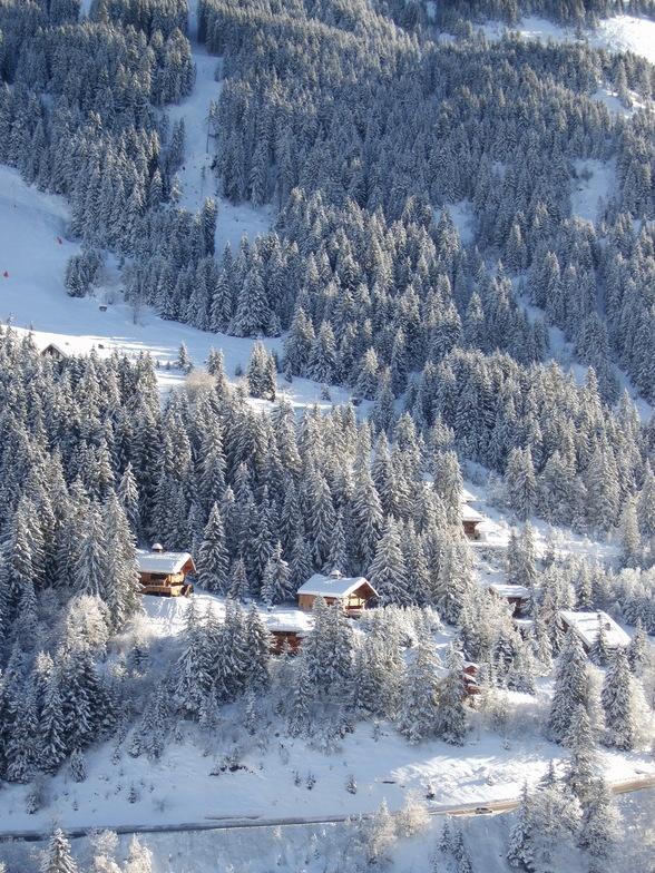chalet on the slopes, Méribel