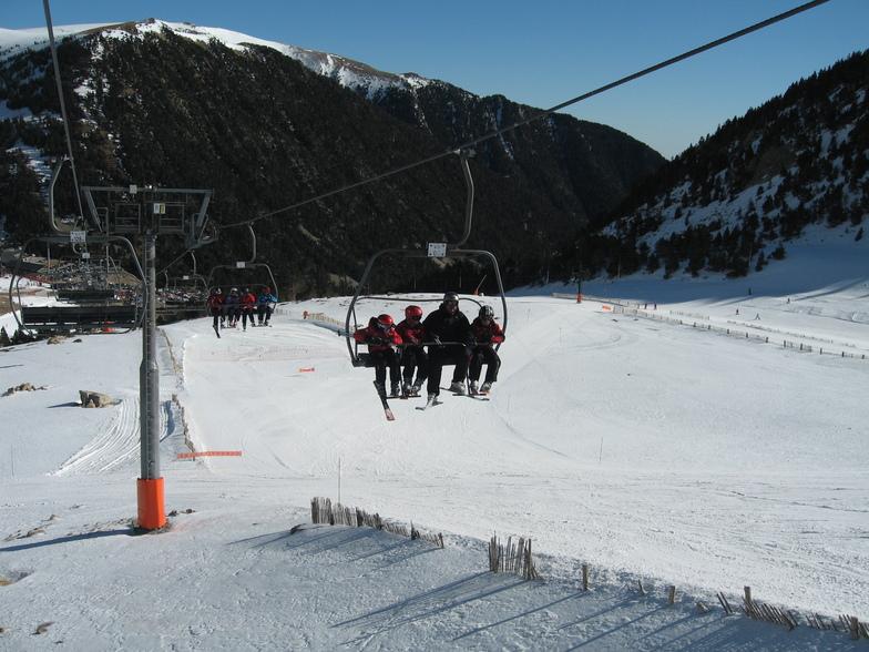Estació amb molta neu, Vallter 2000