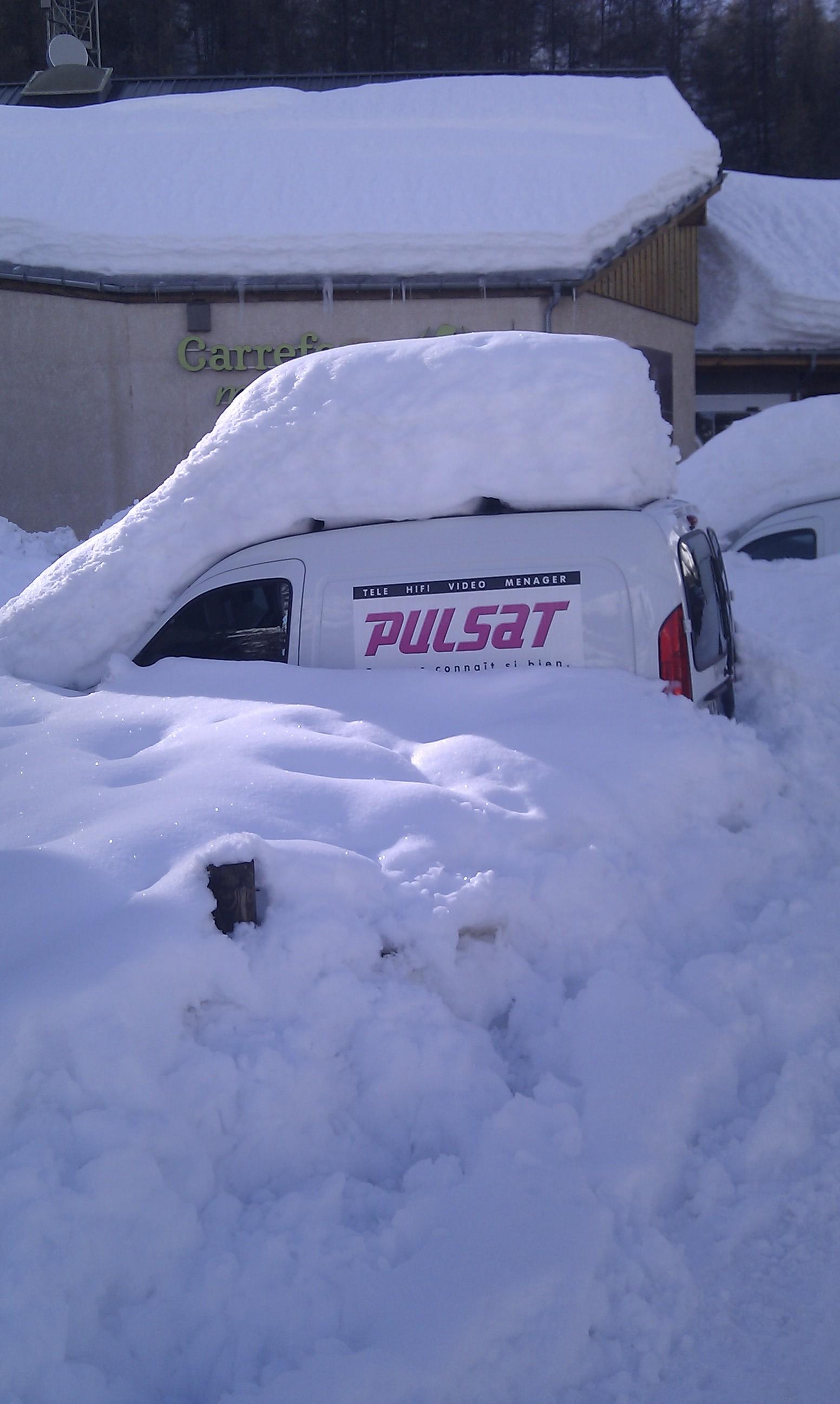 new snow, Valloire