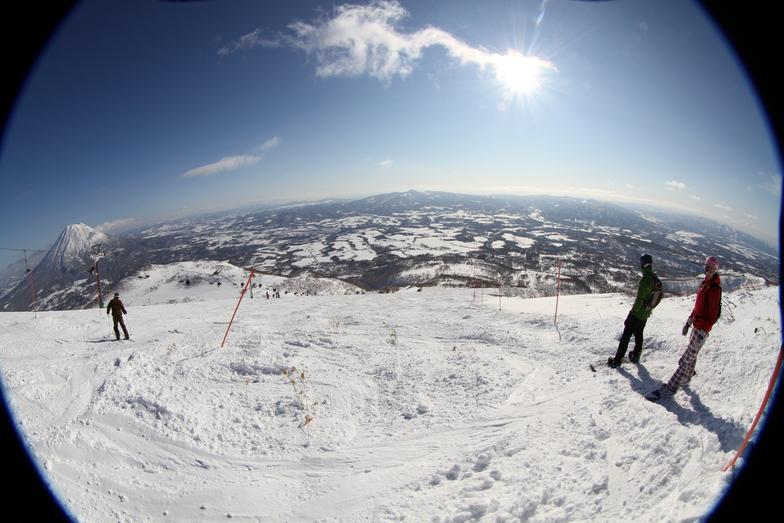 A different take on Mt Yotei, Niseko Annupuri