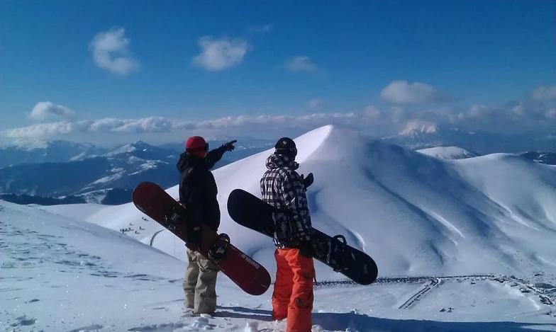 Klisintzik peak, Falakro Ski Resort