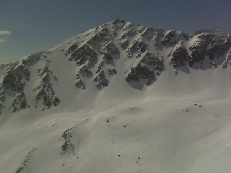 Backside lines - north face, Corviglia-Marguns