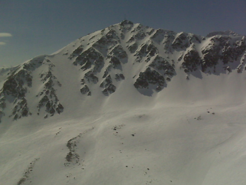 Backside lines - north face, Corviglia-Marguns