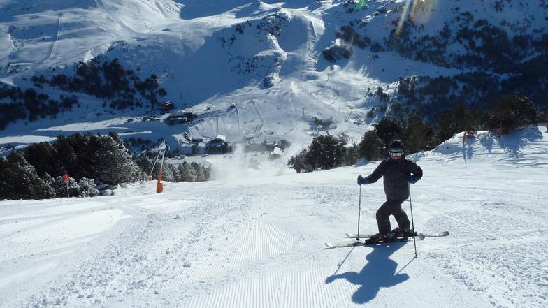 Comenzando a esquiar, Grandvalira El Tarter