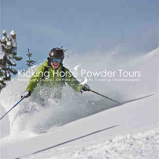 Loving the pow pow..., Kicking Horse