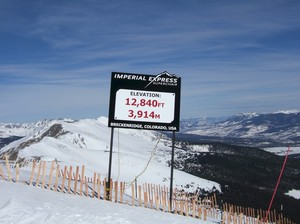 Top of Peak 8 Breckenridge photo