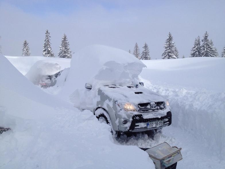 February snow, Jahorina