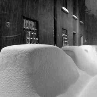 Sarajevo snow
