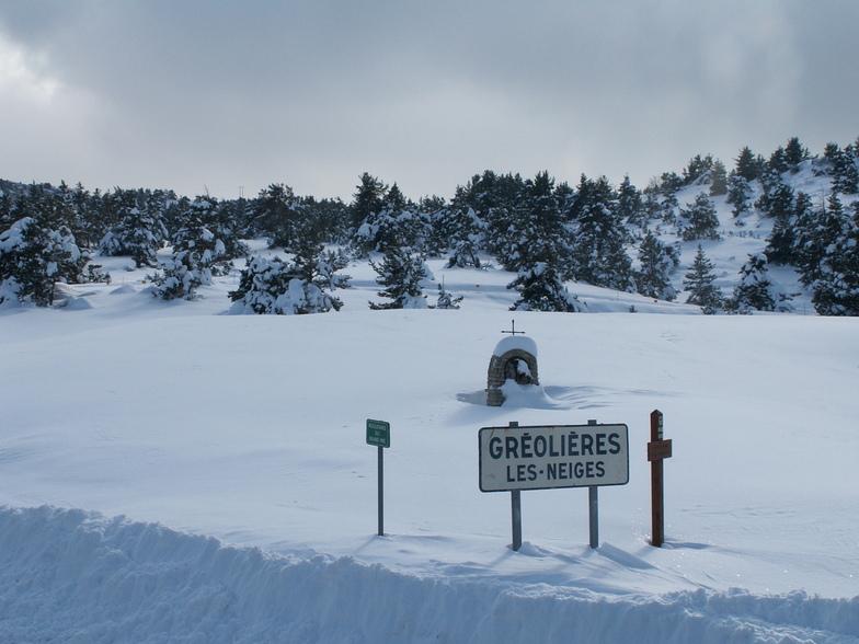 Notre dame des neiges, Gréolières Les Neiges