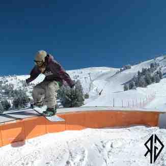 snowpark, Sierra Nevada