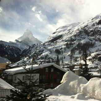 What a view, Zermatt
