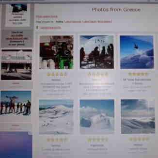 Top rating photos from Greece at 'Snow-Forecast.com' !!!, Kalavryta Ski Resort
