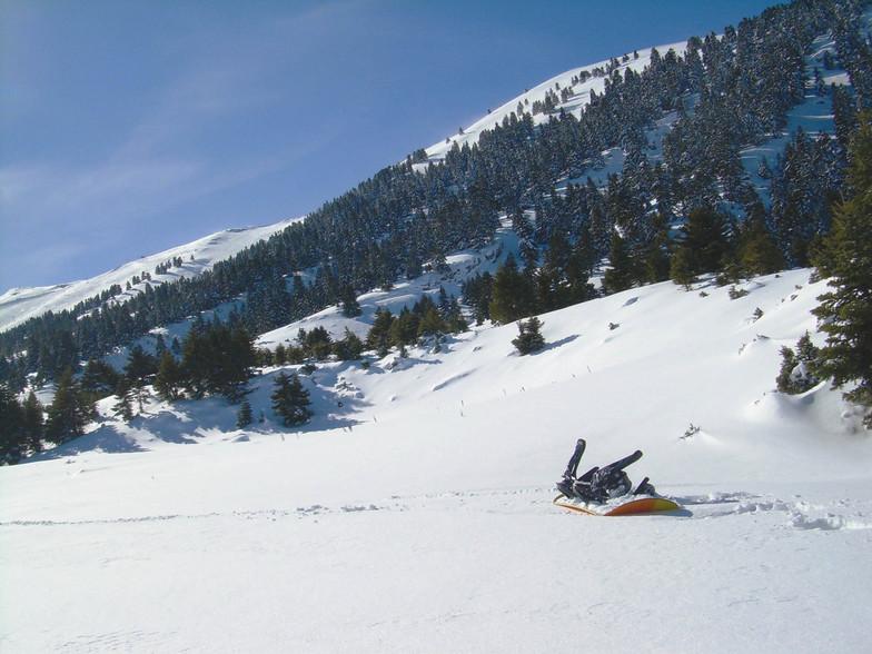 power powder, Kalavryta Ski Resort