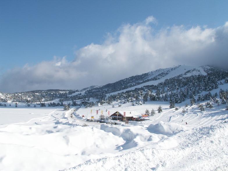 Entrée de Gréolieres les neiges, Gréolières Les Neiges