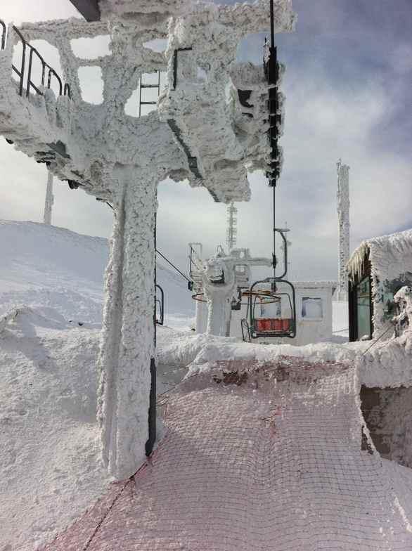 Frozen lift, Sarnano-Sassotetto