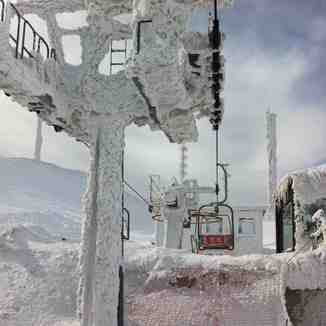 Frozen lift, Sarnano-Sassotetto