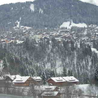 village view, Villars