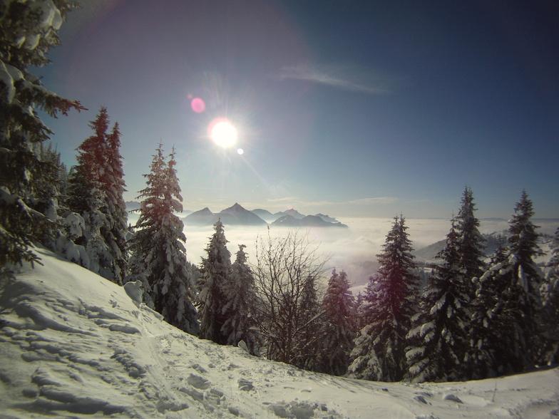 Bernex snow