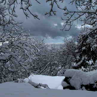 heavy snow, Tochal