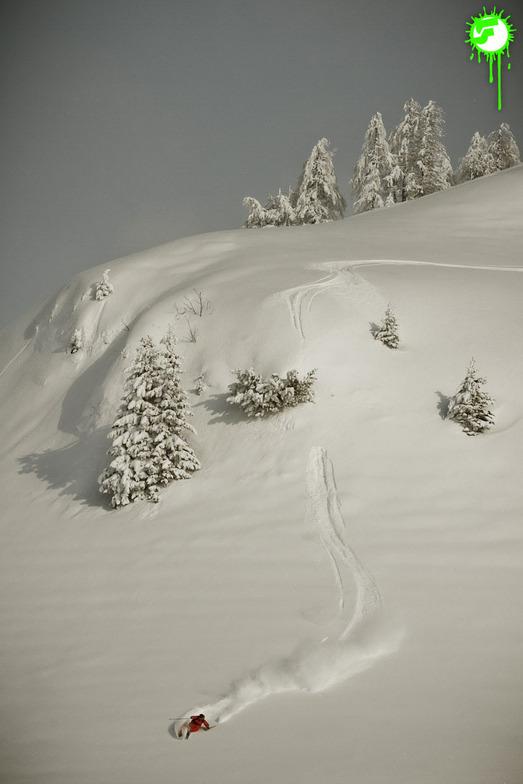 Warth-Schröcken snow