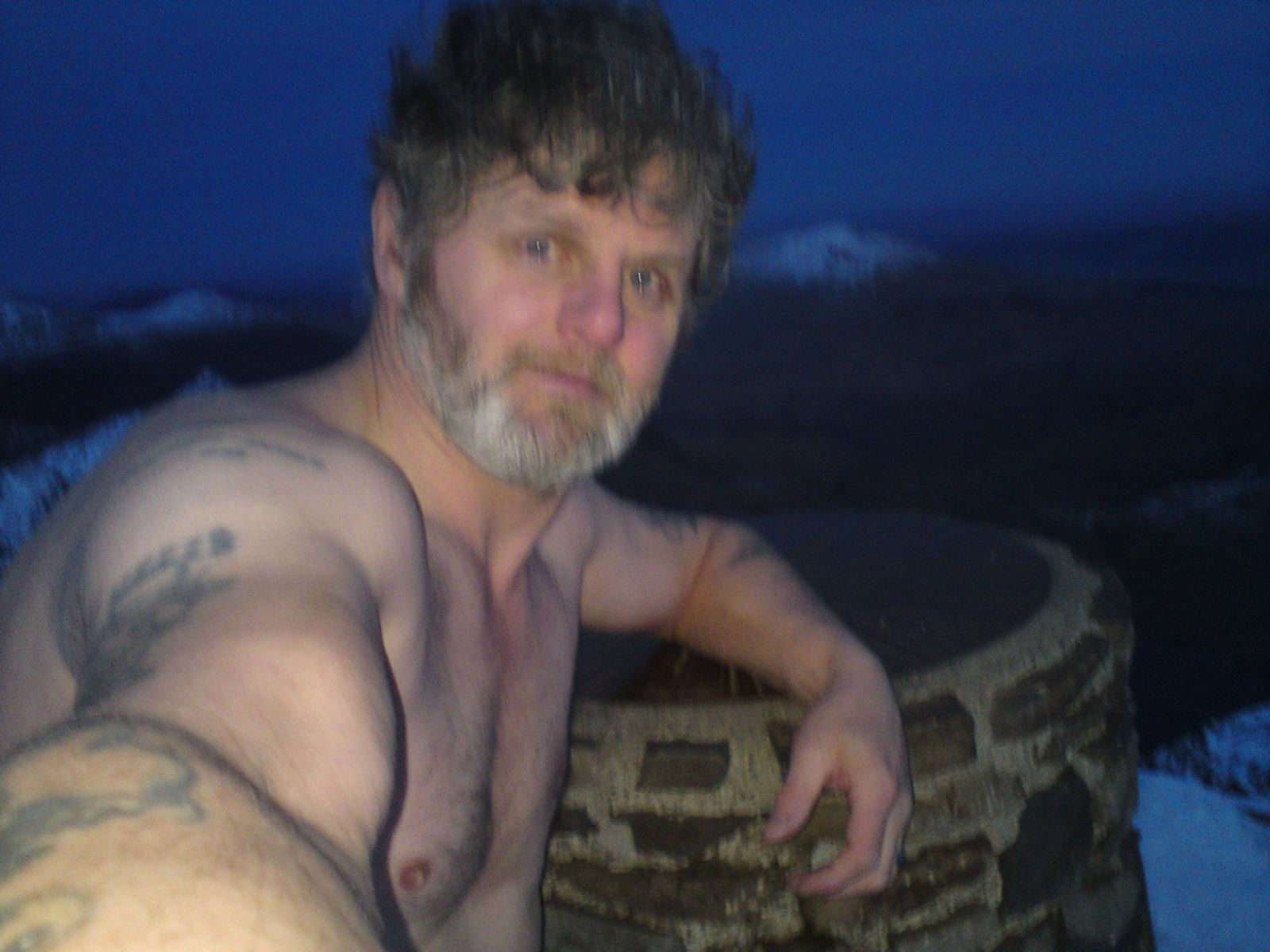 cooling off!, Snowdon