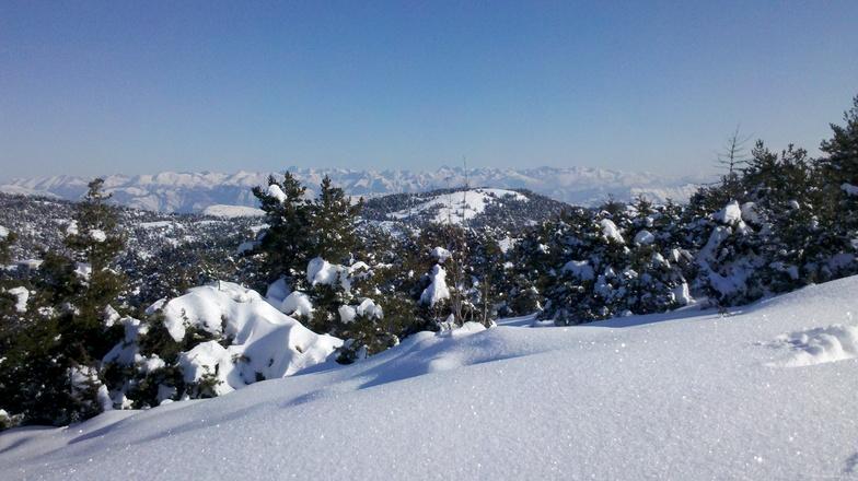 Panoramique Mercantour, Gréolières Les Neiges