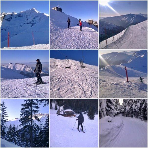 Skiing down Kasprowy Wierch with an instructor, Zakopane