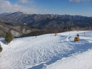 Dry snow, Yabuhara Kogen photo