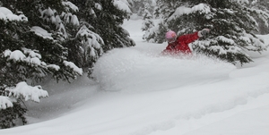 Finally Park City gets a powder day! photo
