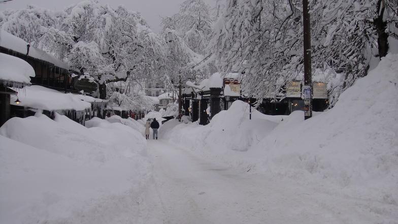 elati, Pertouli Ski Center