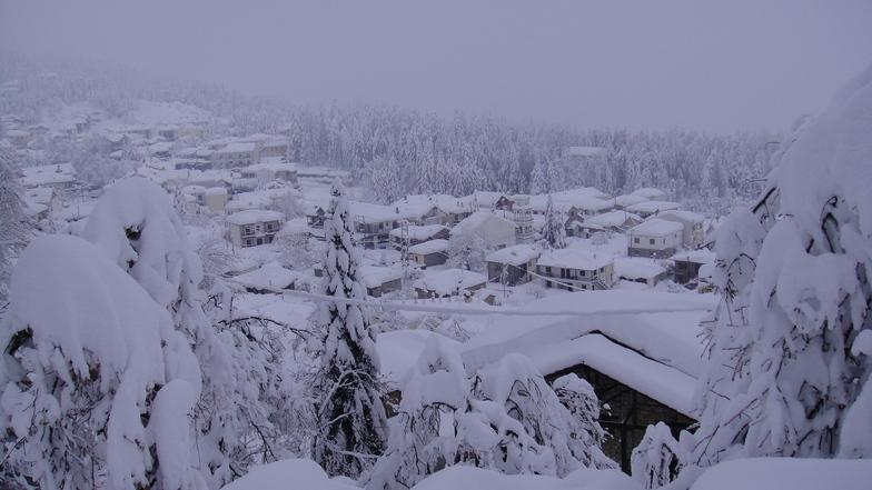 Pertouli Ski Center snow