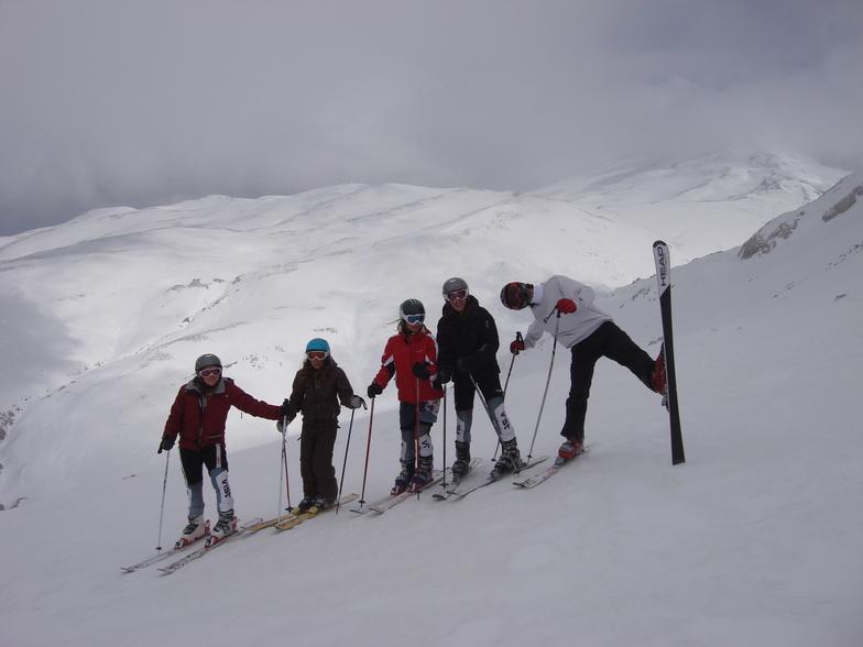 ΣΑΧΑΡΑ ΤΟ 2008, Mount Parnassos