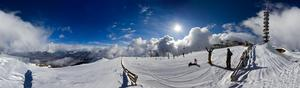360 panorama, Kronplatz photo