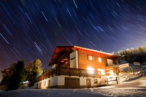Panorama stars, Kronplatz photo