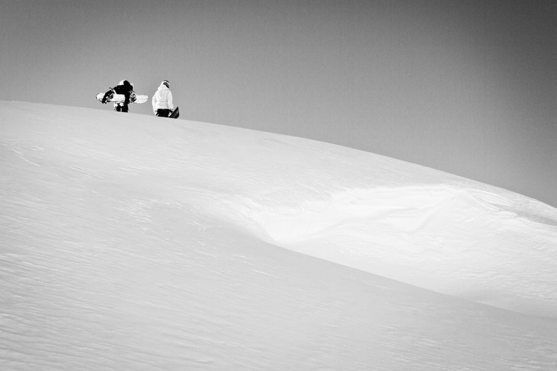 In search of Powder, Les Arcs