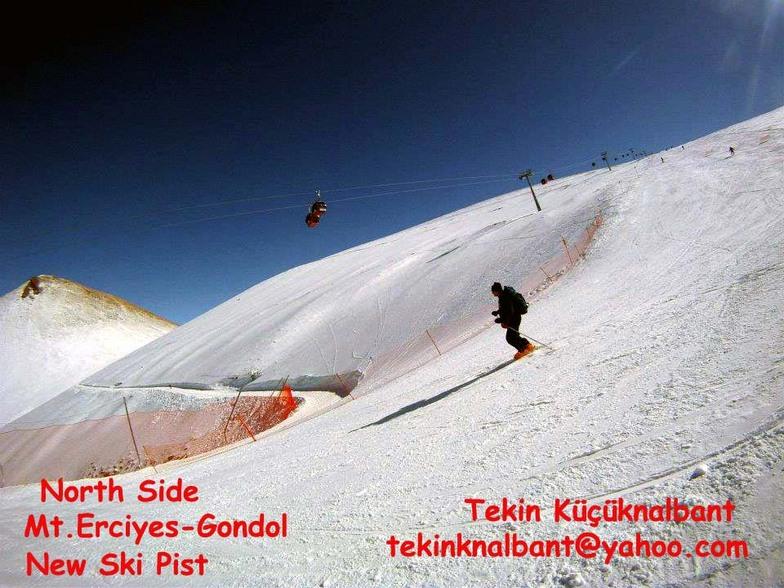 Mt.Erciyes North Side, Erciyes Ski Resort