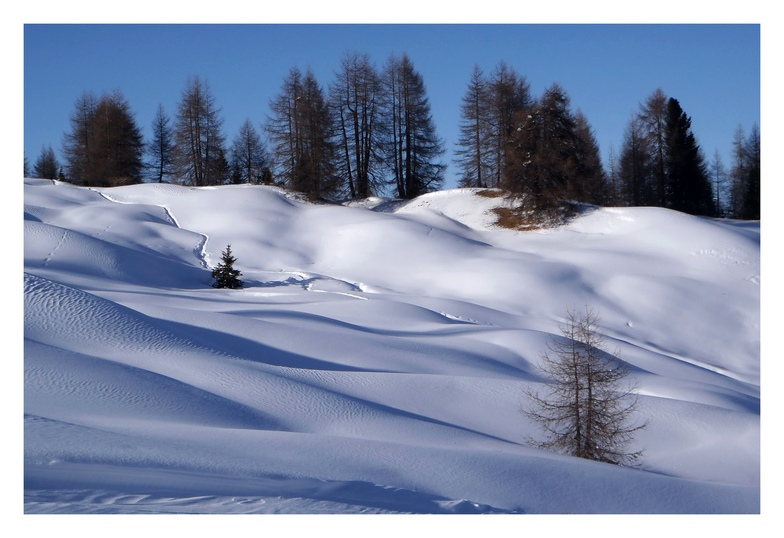 San Cassiano (Alta Badia) snow