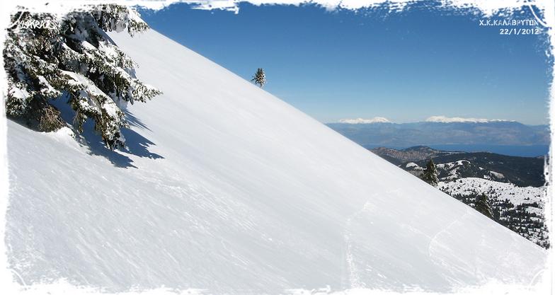 AVGO SLOPE, Kalavryta Ski Resort