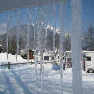 Ski camping, Morzine