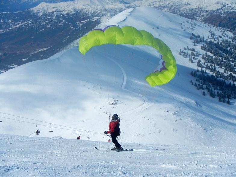 snowkite, Kalavryta Ski Resort