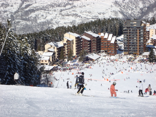 Ax 3 Domaines Ski Resort by: John