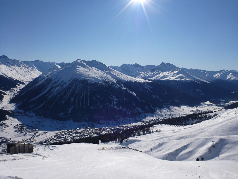 No better place to be, Davos